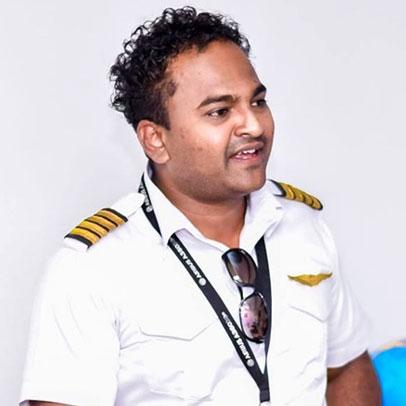 Capt. C K Naresh De Silva